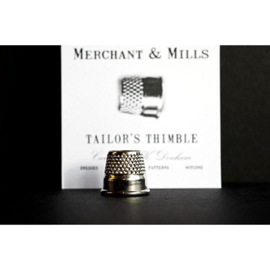 Silberner Fingerhut von Merchant & Mills
