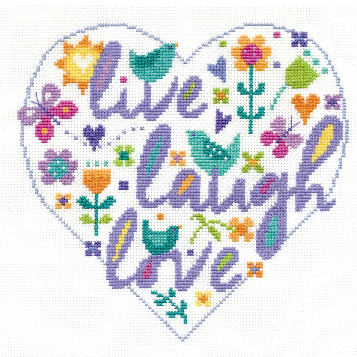 Live Laugh Love {Stickpackung}