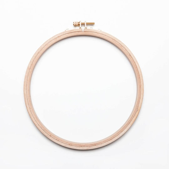 Handstickring Durchmesser 18 - 19 cm
