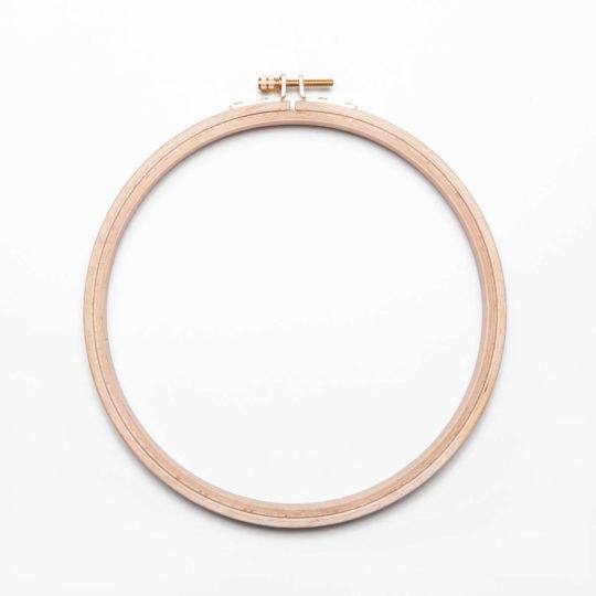 Handstickring Durchmesser 21 - 22 cm