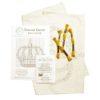 Stickvorlage für eine Kreuzstich Krone in Gold