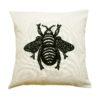 Stickmuster für eine große, schwarze Biene