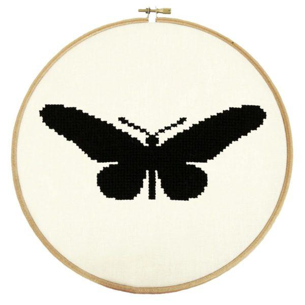 Stickmuster Schmetterling Schwalbenschwanz