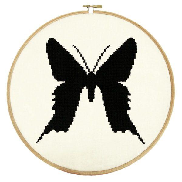 Stickmuster Schmetterling Urania