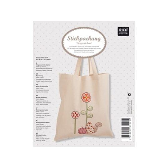 Einkaufsbeutel Stickpackung von Rico Design