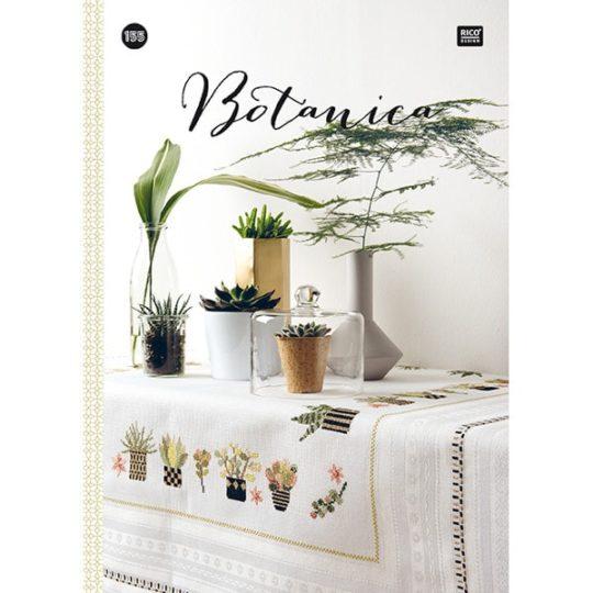 Buch Stickvorlagen Urban Jungle und Greenery Pflanzen