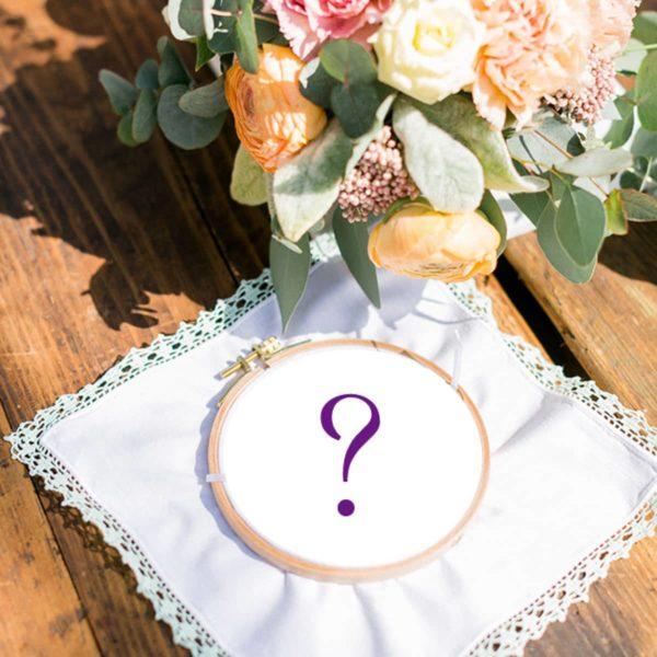 Ringkissen in Auftrag geben für Hochzeit