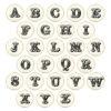 Stickvorlagen für große Zirkus Buchstaben bzw. Alphabet