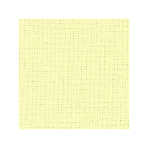 Stoff zum Sticken für Kreuzstich pastellgelb