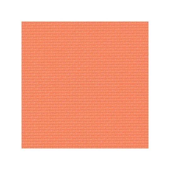 Aifa Stoff zum Sticken für Kreuzstich in Orange