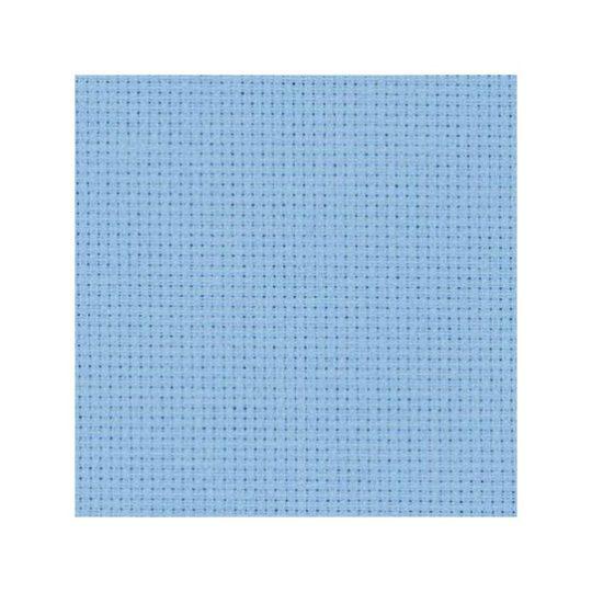 Stoff zum Sticken für Kreuzstich in Blau