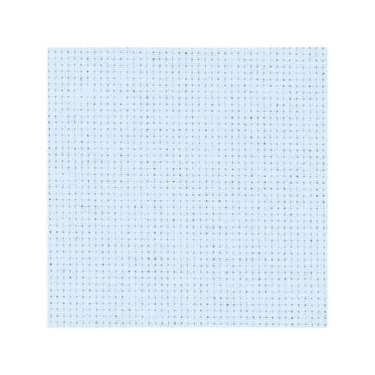 Stoff zum Sticken für Kreuzstich in hellblau