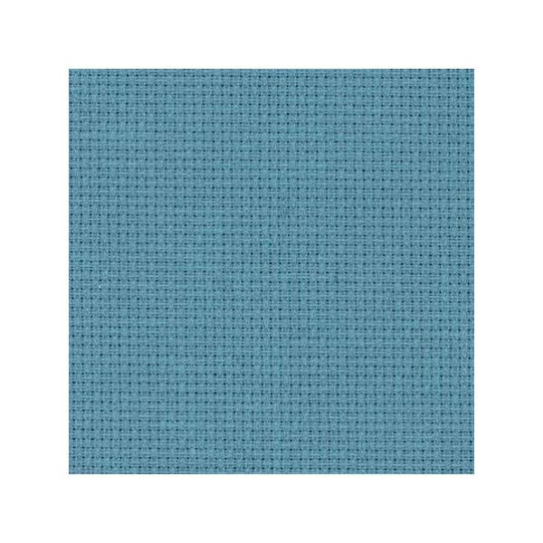 Stoff zum sticken in Kreuzstich in grau-blau