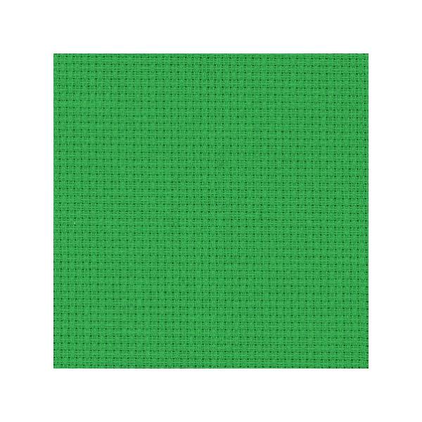 Stoff zum Sticken für Kreuzstich in Dunkelgrün