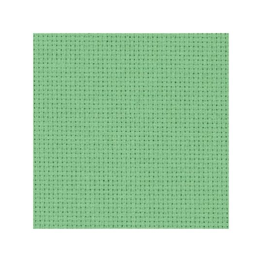 Stoff zum Sticken für Kreuzstich in hellem grün