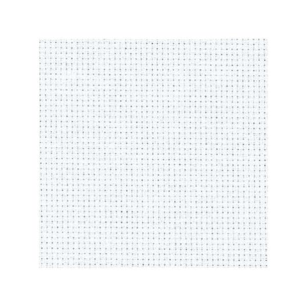 Stoff zum Sticken für Kreuzstich in Weiß