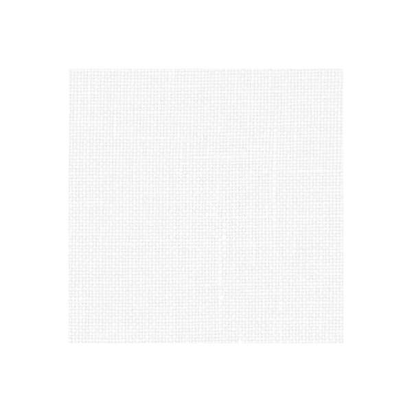 Leinen zum Besticken von Zweigart in der Farbe Weiß