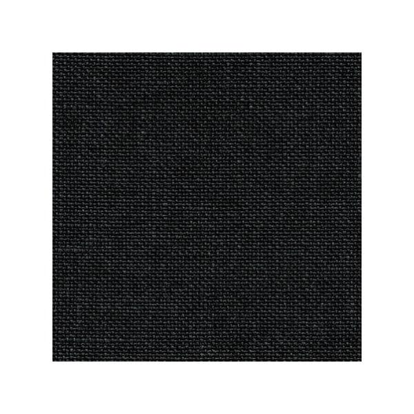 Leinen zum Sticken in der Farbe Schwarz