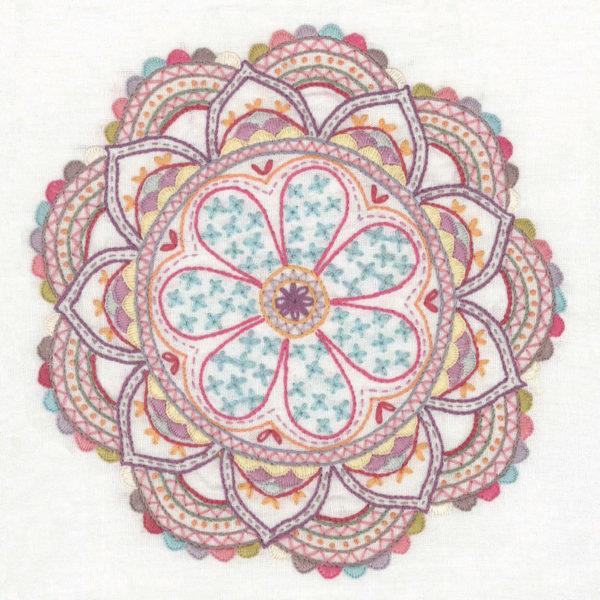 Schönes Mandala mit Kaleidoskop-Muster