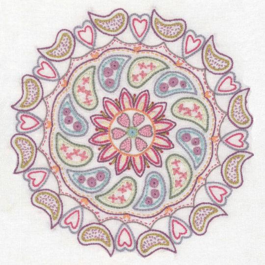 Mandala sticken für mehr Gelassenheit