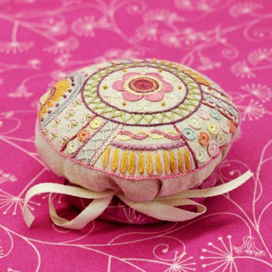 Nadelkissen mit Mandala Muster selber machen DIY