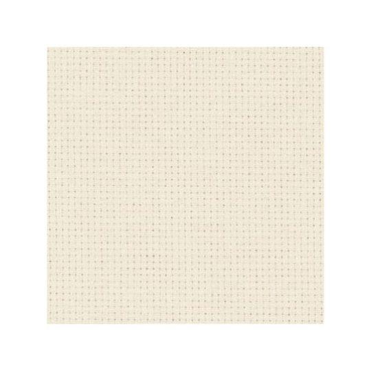 Aida 18 ct Stoff zum Sticken in Weiß