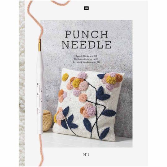 PUnch Needle Vorlagen im Buch von Rico Design l über Zur Lila Pampelmuse