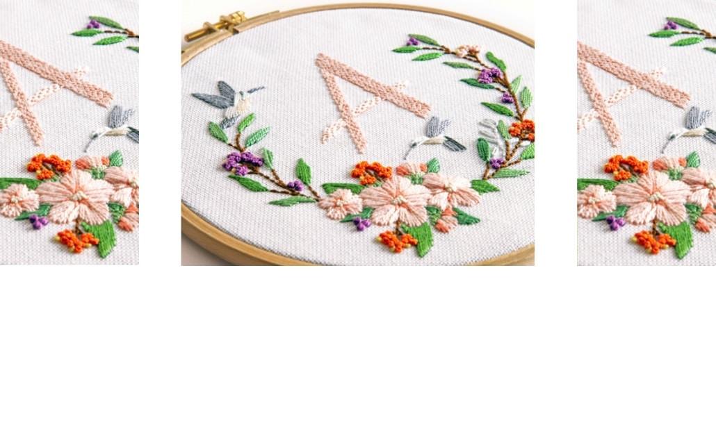 Blumen, Blüten, Blätter sticken | Stickpackungen
