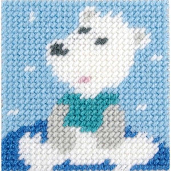 Eisbär sticken: Set für Kinder von DMC | über Zur Lila Pampelmuse