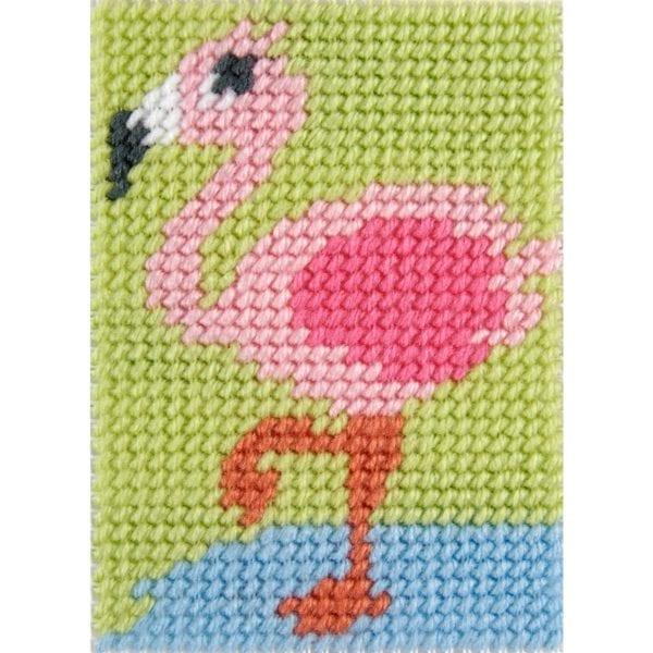 Flamingo sticken: Set für Kinder von DMC | über Zur Lila Pampelmuse
