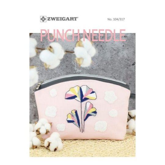 Heft mit Punch Needle Ideen von Zweigart | über Zur Lila Pampelmuse