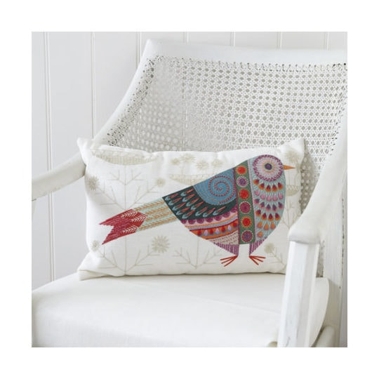 Stickset bunter Vogel im Folklore Stil | über Zur Lila Pampelmuse
