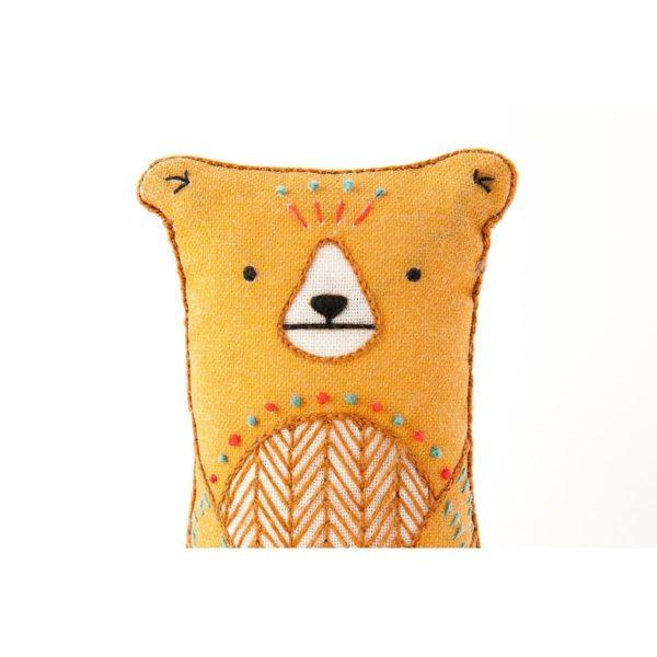 Süße Tier Puppe: Bär sticken! Für Anfänger - über Zur Lila Pampelmuse