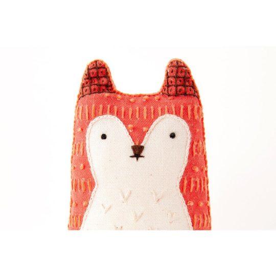 Süße Tier Puppe: Fuchs sticken! Für Anfänger - über Zur Lila Pampelmuse