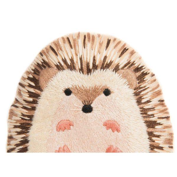 Süße Tier Puppe: Igel sticken! Für Handstickerei - über Zur Lila Pampelmuse