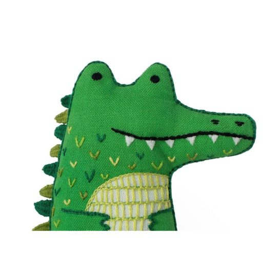 Süße Tier Puppe: Krokodil sticken! Für Anfänger - über Zur Lila Pampelmuse