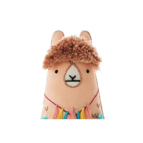 Süße Tier Puppe: Lama sticken! Für Anfänger - über Zur Lila Pampelmuse