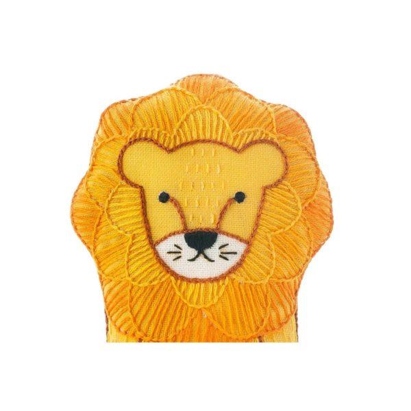 Süße Tier Puppe: Löwe sticken! Für Anfänger - über Zur Lila Pampelmuse