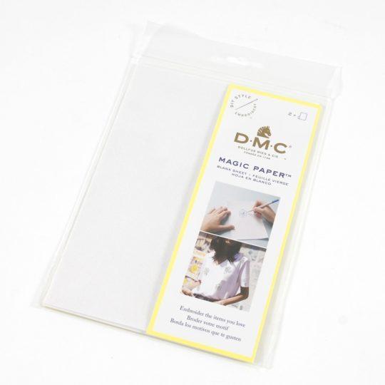 wasserlösliches Übertragunspapier Magic Paper von DMC | über Zur Lila Pampelmuse