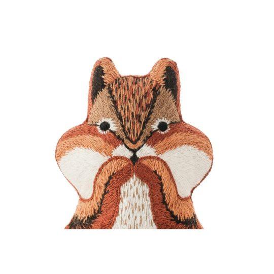 Süße Tier Puppe: Backenhörnchen sticken! Für Handstickerei - über Zur Lila Pampelmuse
